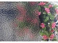 Рельефная витражная пленка Clear Bubbles 011