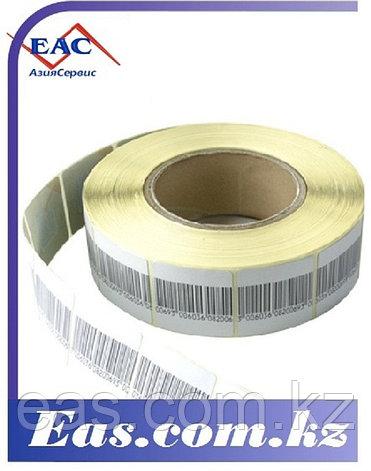 Антикражная Защитная Этикетка 40х40 мм, ложный штрих-код, фото 2