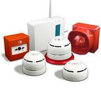 Установка видео наблюдения и пожарной сигнализации