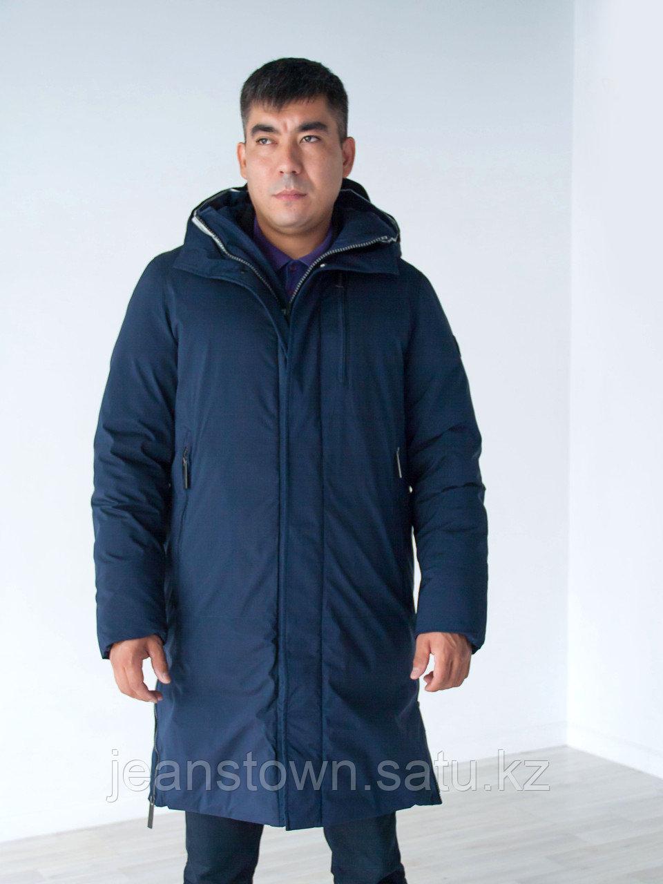 Куртка мужская зимняя VIvacana длинная синяя