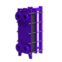 Разборный теплообменник с тепловой нагрузкой от 1 МВт