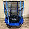 Детский батут Get Jump Blue 140 с защитной сеткой, фото 2