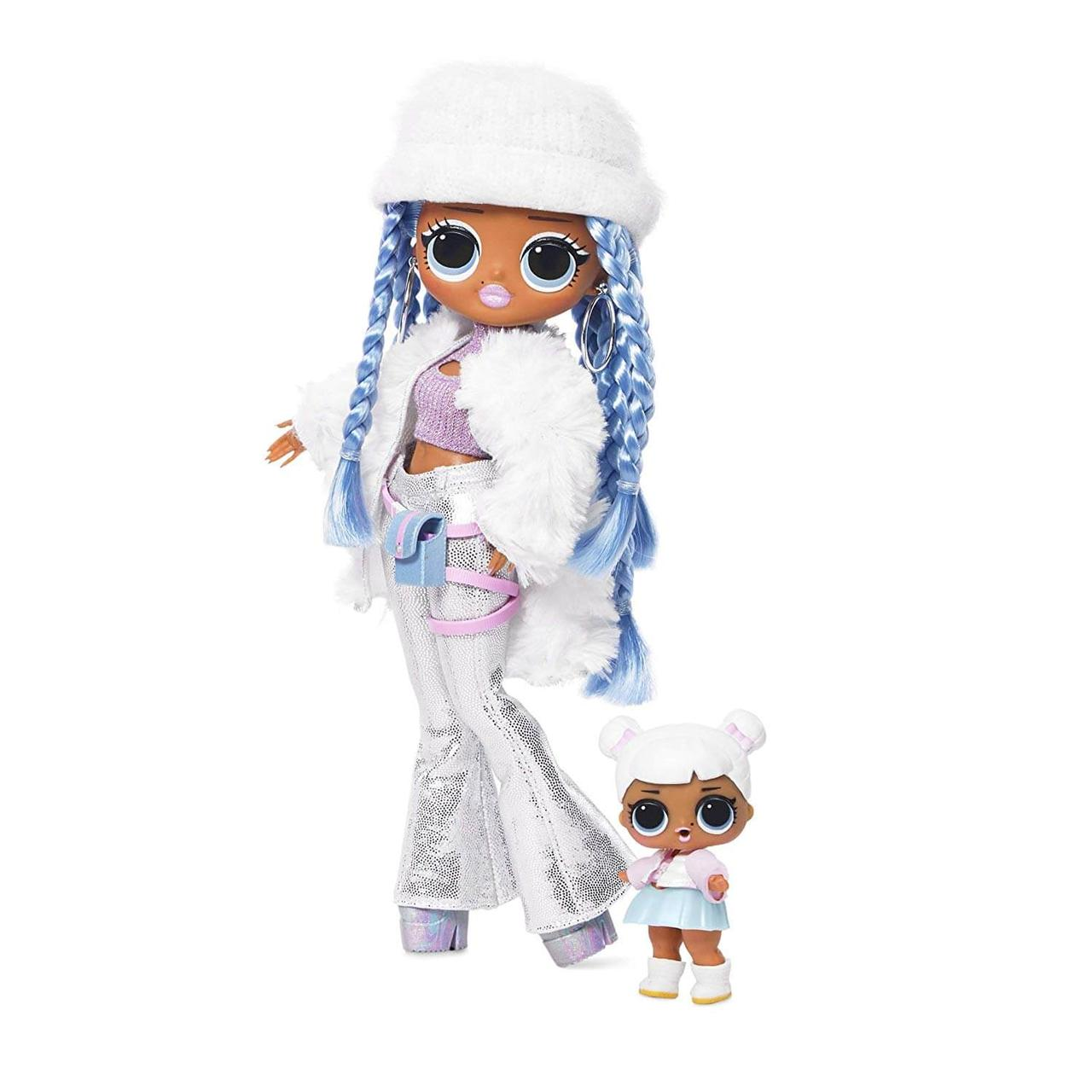 L.O.L. Surprise! O.M.G. Winter Disco Snowlicious & Sister Кукла Снежная и ее сестра Снежный Ангел