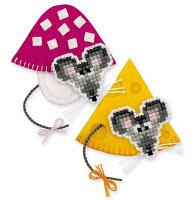 """Набор для вышивания крестом """"Магниты. Мышки"""", фото 1"""