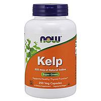 Now Foods, Kelp, 250 капсул
