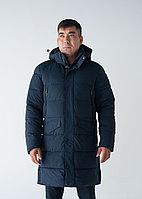 Куртка мужская зимняя  Frompoles  длинная,синяя