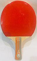 Ракетка для настольного тенниса Gold Cup в чехле, фото 3