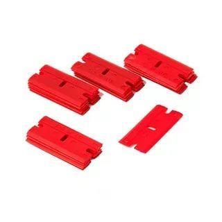 Жесткие красные лезвия для скребка L-edge (20 шт)