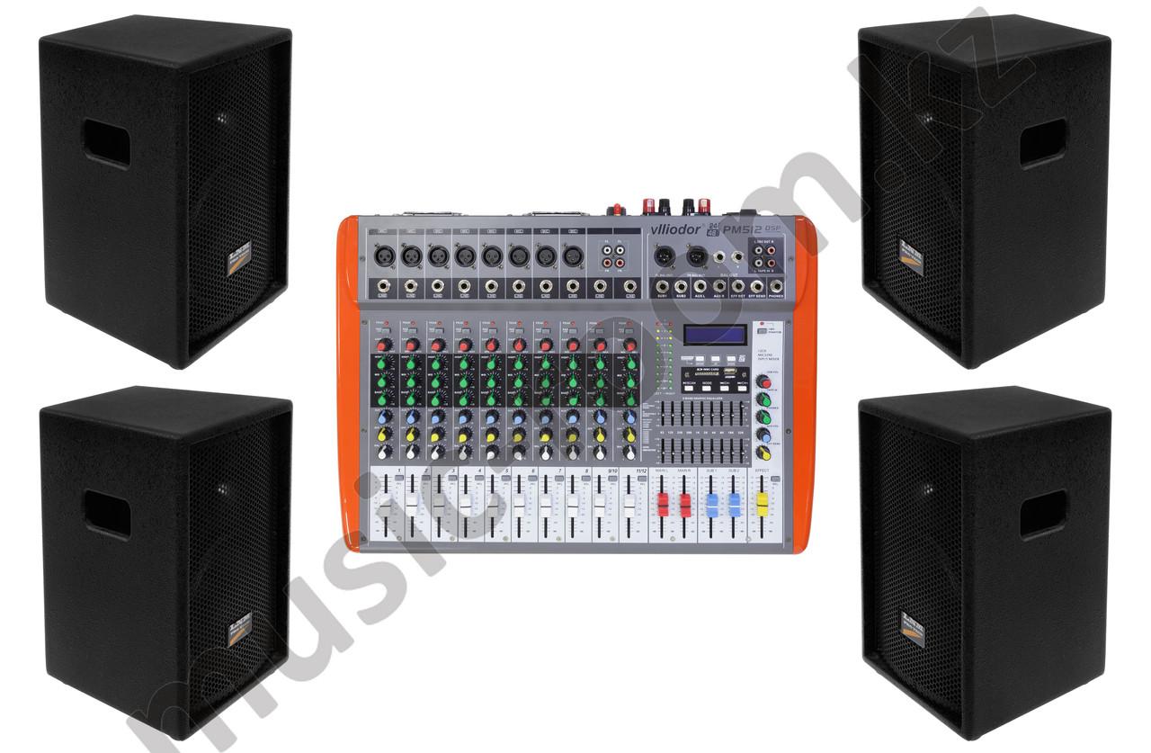 Комплект звуковой аппаратуры 1000 Ватт