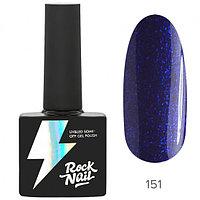 Гель-лак RockNail Basic #151 Kashmir Sapphire, 10мл