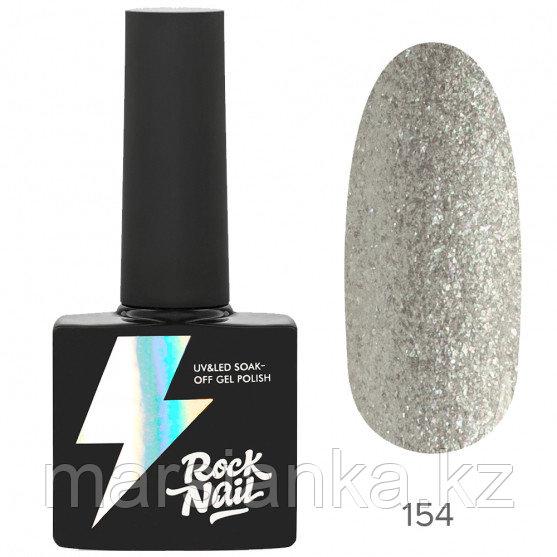 Гель-лак RockNail Basic #154 Snowflake, 10мл
