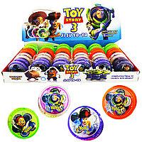 Yo-Yo With Light Toy Story 3 Йо-Йо Светящаяся (4 цвета) (1уп. - 24шт.), фото 1