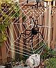 Паук черный декоративный для Хэллоуина 40 см, фото 2