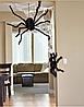 Паук черный декоративный для Хэллоуина 40 см, фото 3