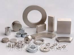 Неодимовый магнит диск 6х2 мм, золотой, шт, фото 2