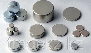 Неодимовый магнит диск 6х2 мм, золотой, шт, фото 3