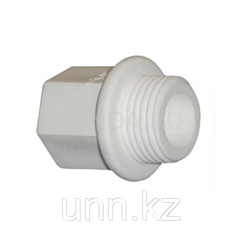 Заглушка с рез. ППР серый 32 Jakko, фото 2