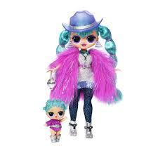 L.O.L. Surprise O.M.G. Winter Disco Cosmic Nova & SisterЛОЛ Космическая Нова и ее сестра Космическая Королева
