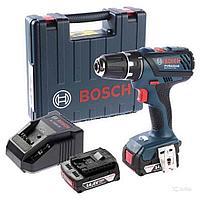 Шуруповерт аккумуляторный,  BOSCH GSR 14,4-2-LI Plus, (06019E6020)