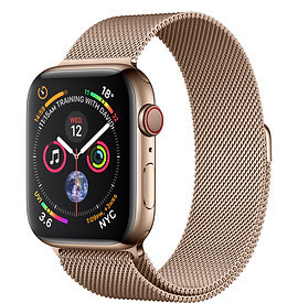 Apple Watch Series 5 44mm Gold Milanese Loop