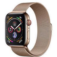 Apple Watch Series 5 44mm Gold Milanese Loop