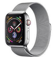 Apple Watch Series 5 44mm Silver Milanese Loop