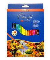 Набор цветных карандашей Colourful Yalong 18 цветов