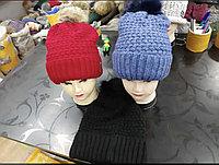 Шапки зимние женские только оптом Алматы, фото 1