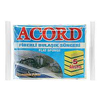 Губка для мытья посуды Acord 5 шт