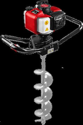 Мотобур (бензобур), d=60-150 мм, 43 см3, 1 оператор, ЗУБР, фото 2