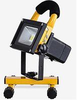 LED прожектор аккумуляторный 10W