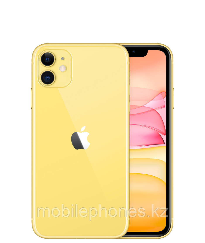 Смартфон Apple IPhone 11 Yellow 128Gb