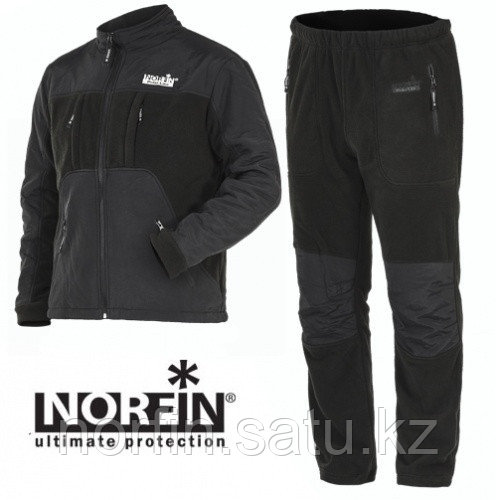 Костюм флисовый Norfin POLAR LINE  GRAY  р.L (52-54)