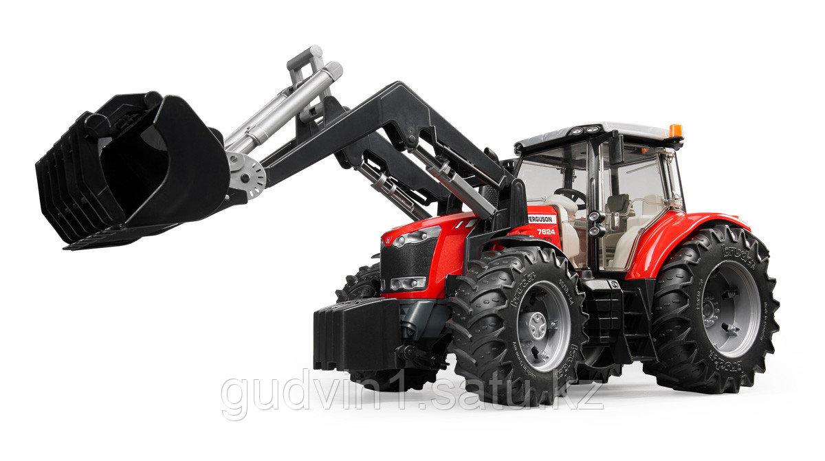Трактор Massey Ferguson 7600 с погрузчиком Артикул №03-047