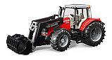 Трактор Massey Ferguson 7600 с погрузчиком Артикул №03-047, фото 3
