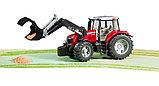 Трактор Massey Ferguson 7600 с погрузчиком Артикул №03-047, фото 4