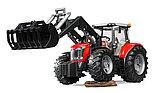 Трактор Massey Ferguson 7600 с погрузчиком Артикул №03-047, фото 5