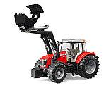 Трактор Massey Ferguson 7600 с погрузчиком Артикул №03-047, фото 6