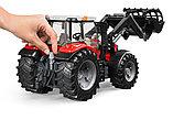 Трактор Massey Ferguson 7600 с погрузчиком Артикул №03-047, фото 7