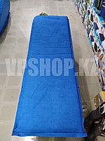 Самонадувной туристический термо коврик каремат прочный, доставка