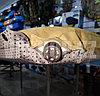 Самонадувной туристический термо коврик каремат прочный, доставка, фото 6