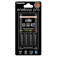 Panasonic Eneloop Pro K-KJ55HCD40E зарядное устройство + 4 АА аккумулятора 2500 mAh, фото 1