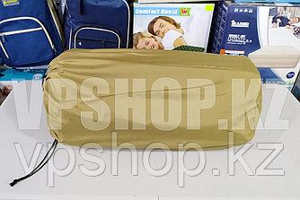 Самонадувной двухместный туристический термо коврик каремат прочный, доставка