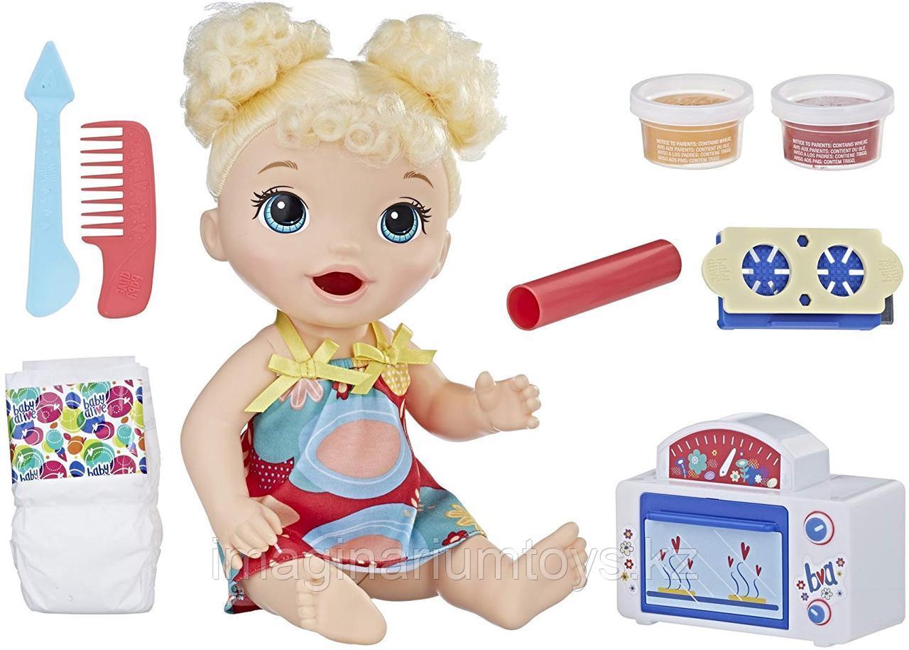 Baby Alive Кукла интерактивная Беби Элайв