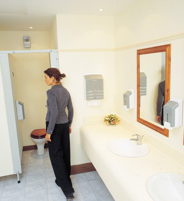 Диспенсер для листовой туалетной бумаги в пачках Ripple 6965 Kimberly Clark Professional