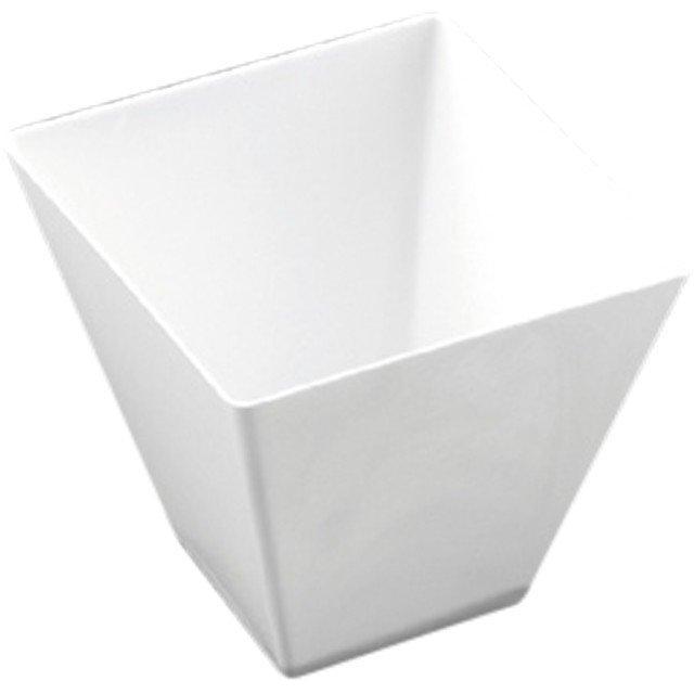 Форма для фуршетов, 90мл, 56х55мм, Rombo, белая, 25 шт