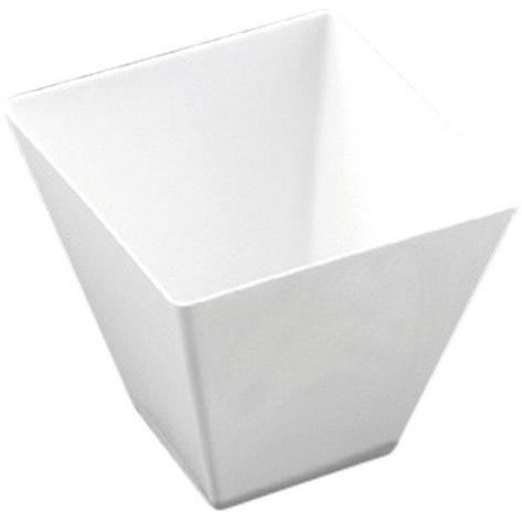 Форма для фуршетов, 90мл, 56х55мм, Rombo, белая, 25 шт, фото 2