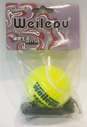 Тренажер Файтбол теннисный мяч Weilepu для бокса, фото 2