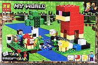 Конструктор Lari Minecraft Шерстяная ферма №11361