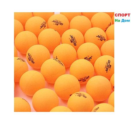 Мячи для настольного тенниса GF SPORT 60 шт. (цвет желтый), фото 2